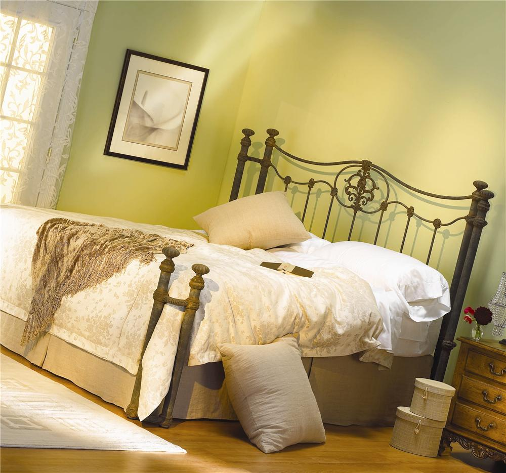 Wesley Allen Iron Beds Dawson Poster Bed - Item Number: HOFRP1053