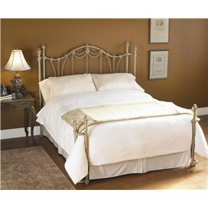 Wesley Allen Iron Beds King Maywood Poster Bed