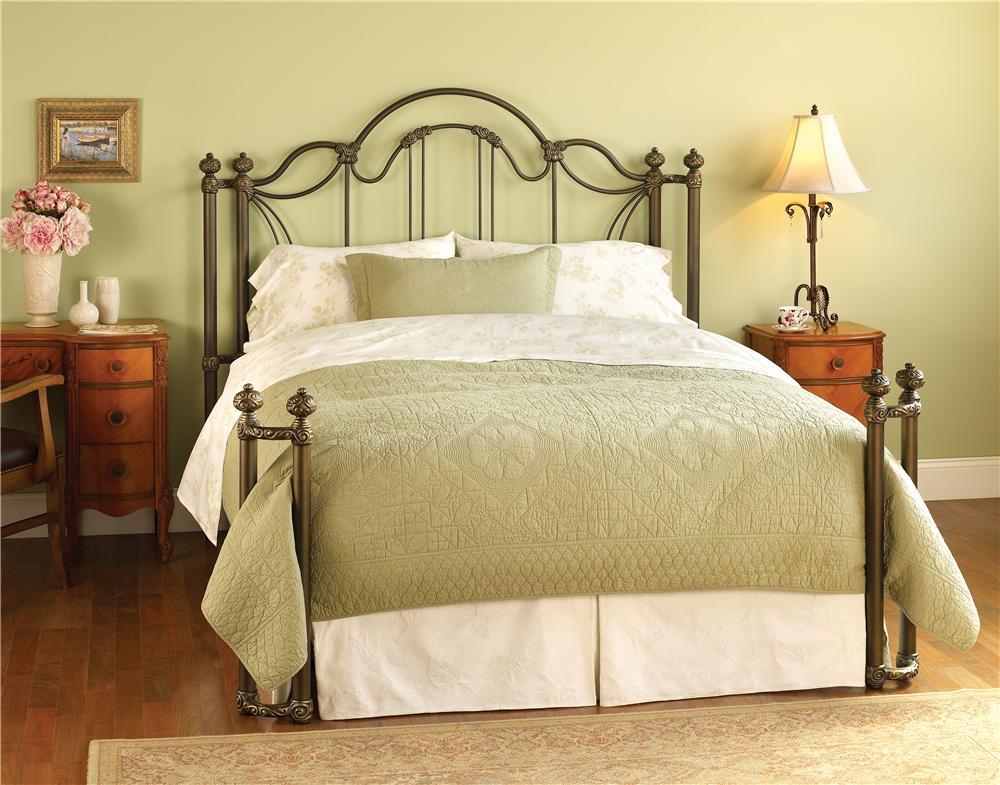 Wesley Allen Iron Beds King Marlow Iron Bed - Item Number: HOFRP7035K