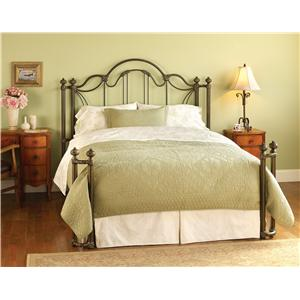 Morris Home Furnishings Iron Beds Queen Marlow Iron Bed