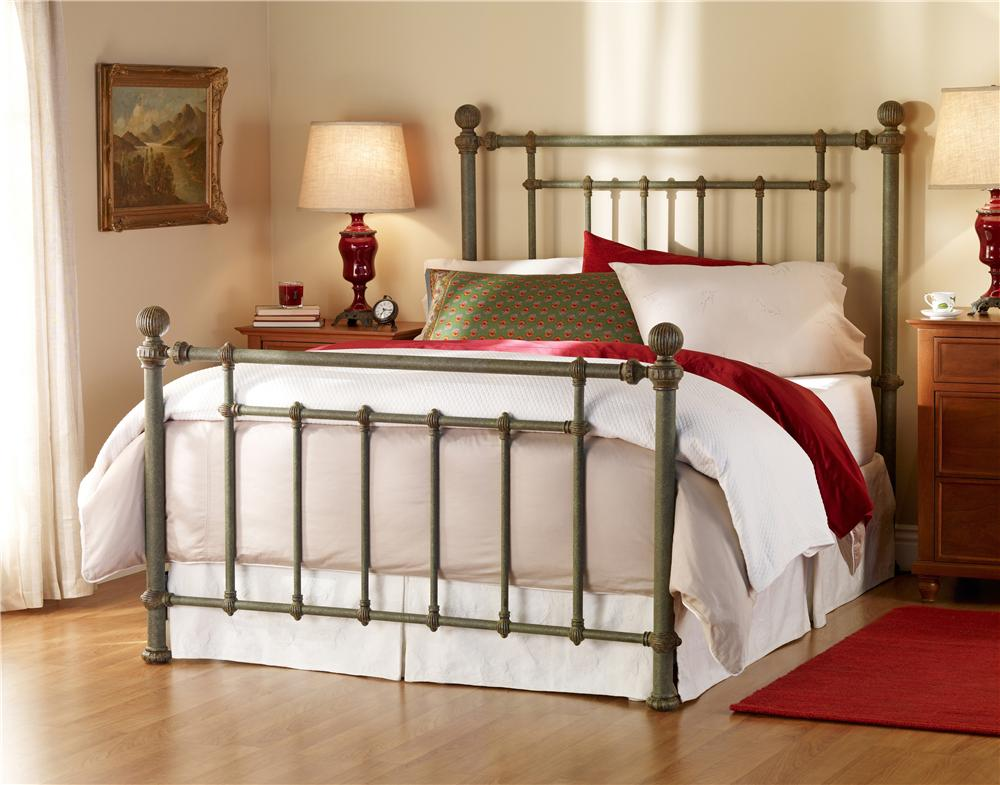 Wesley Allen Iron Beds Revere Poster Bed - Item Number: Revere