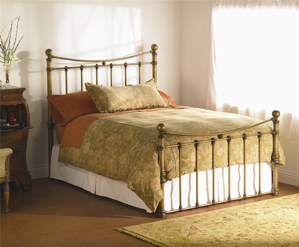 Wesley Allen Quati Queen Headboard And Footboard Iron Bed