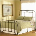 Wesley Allen Wellington  Iron Headboard and Footboard Bed - Item Number: CB1057 - BRONZE
