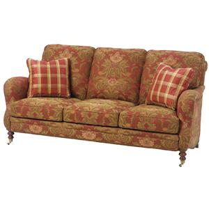 Wesley Hall 1472 Traditional Stationary Sofa