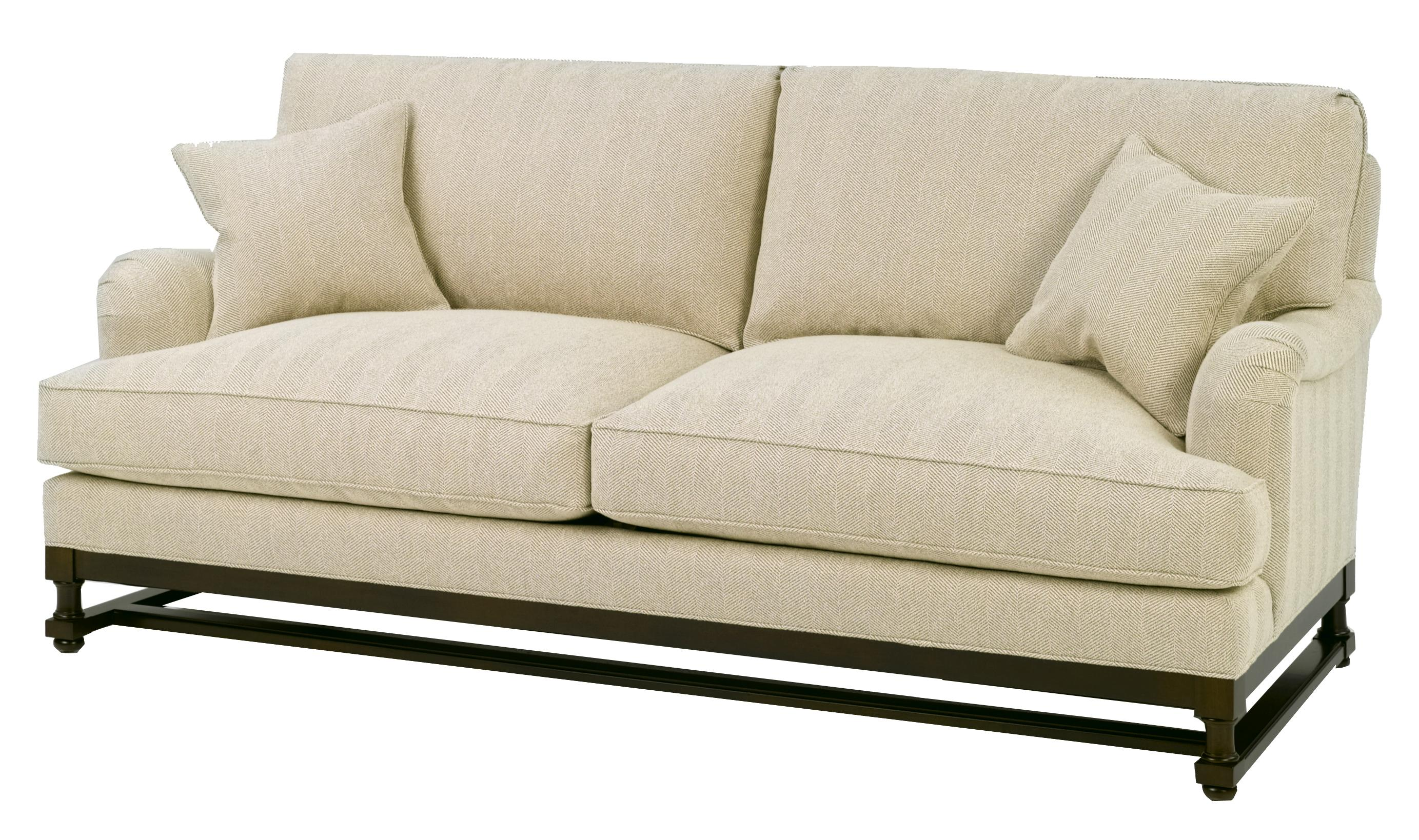 1902 Stationary Sofa by Wesley Hall at Jacksonville Furniture Mart