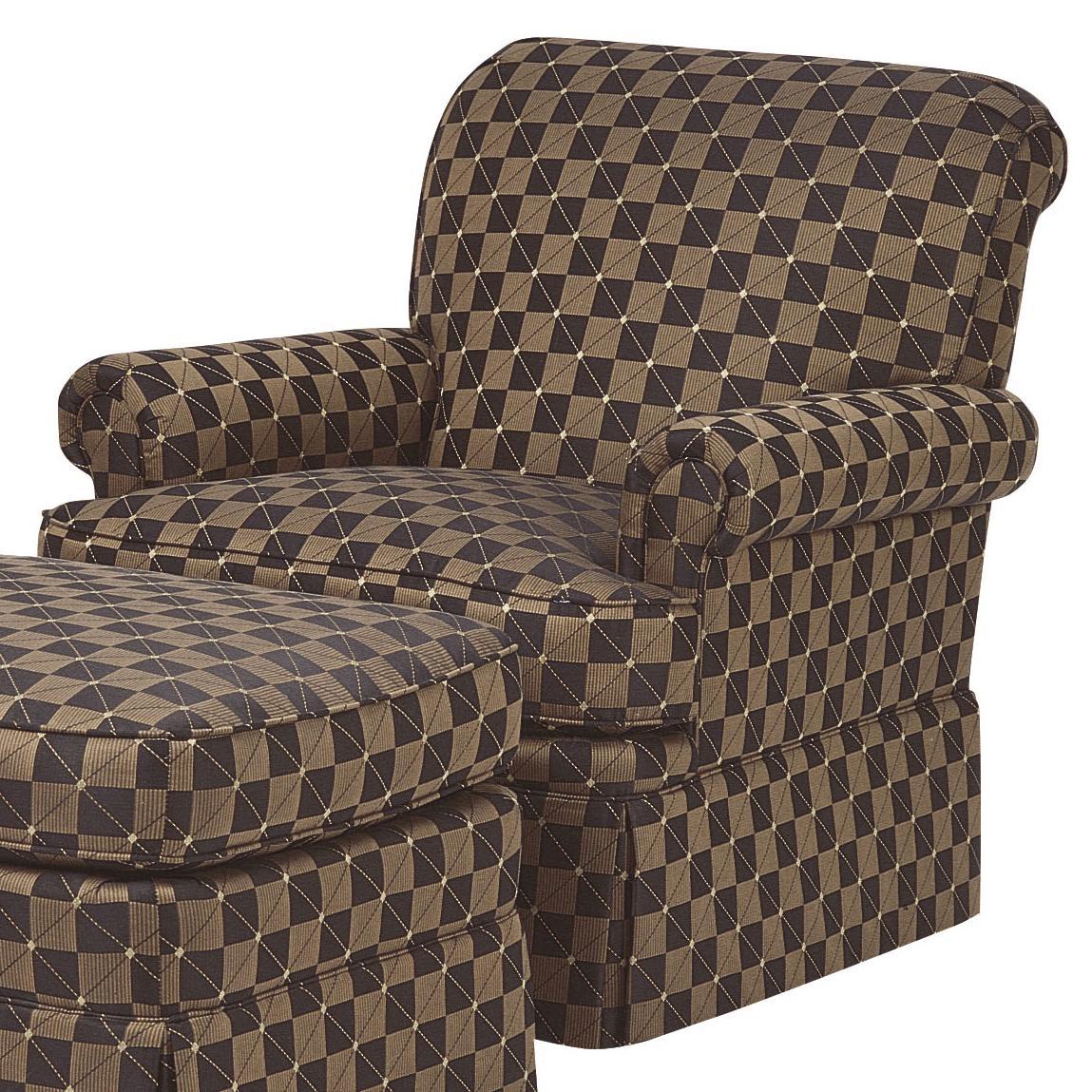 Empire Skirt Chair