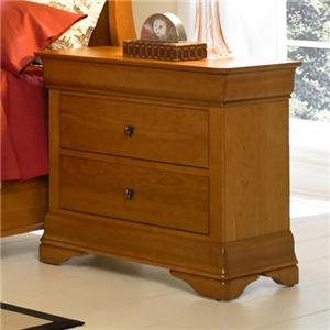West Brothers Louis Philippe Bedside Chest