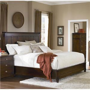 West Brothers Newbury Street King Panel Bed