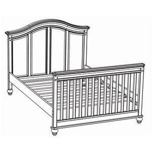 Westwood Design Cypress Point Bed Rails