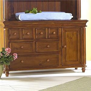 Westwood Design Cypress Point Dressing Combo Plus with Easy Reach Drawers