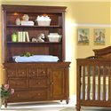 Westwood Design Cypress Point Combo Hutch - Shown with Dresser