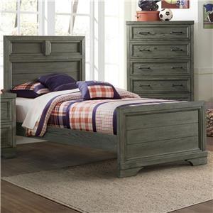 Kemp Twin Bed