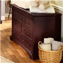 Westwood Design Kingston  Transitional Chocolate Brown 7-Drawer Double Dresser
