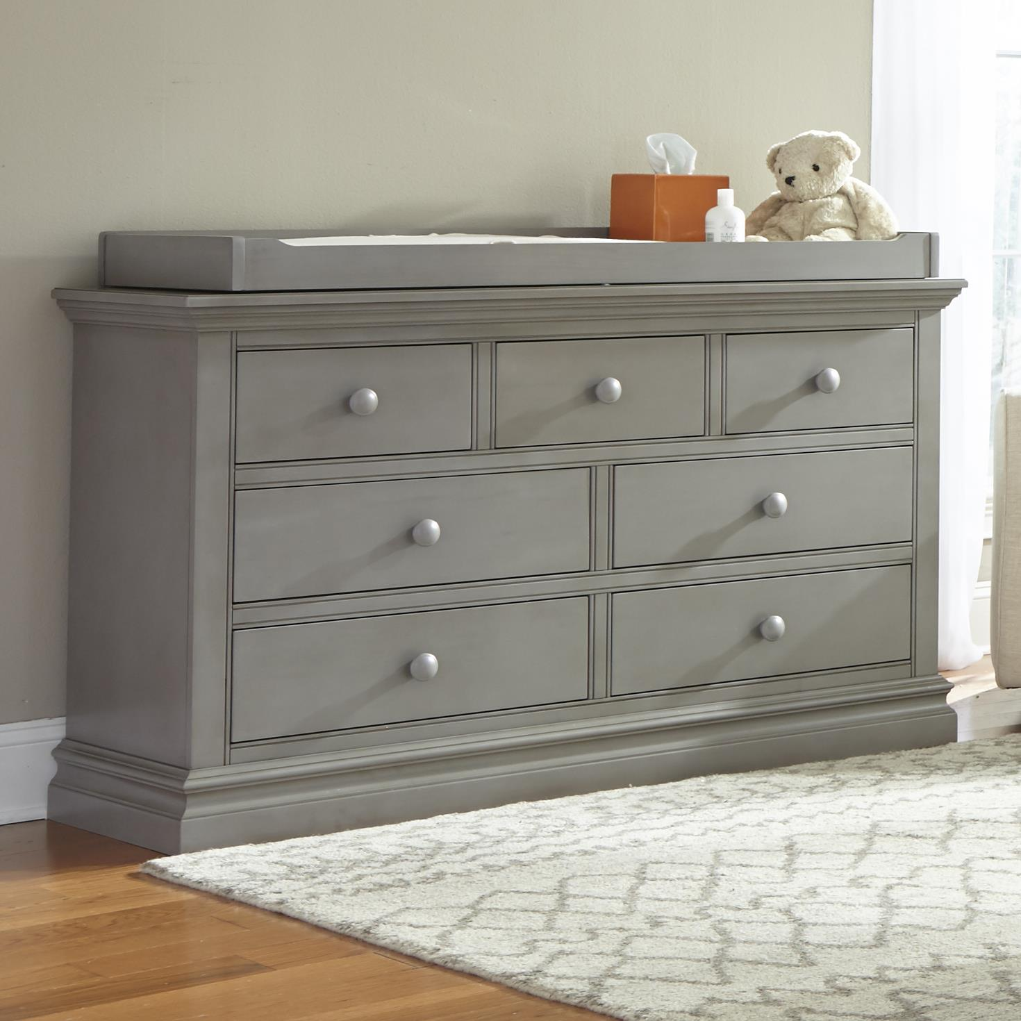 Dresser with Changing Top
