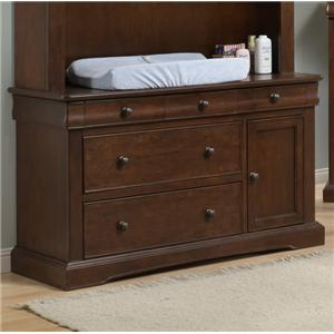 Westwood Design Stratton Stylish Dressing Combo with Easy Reach Drawers