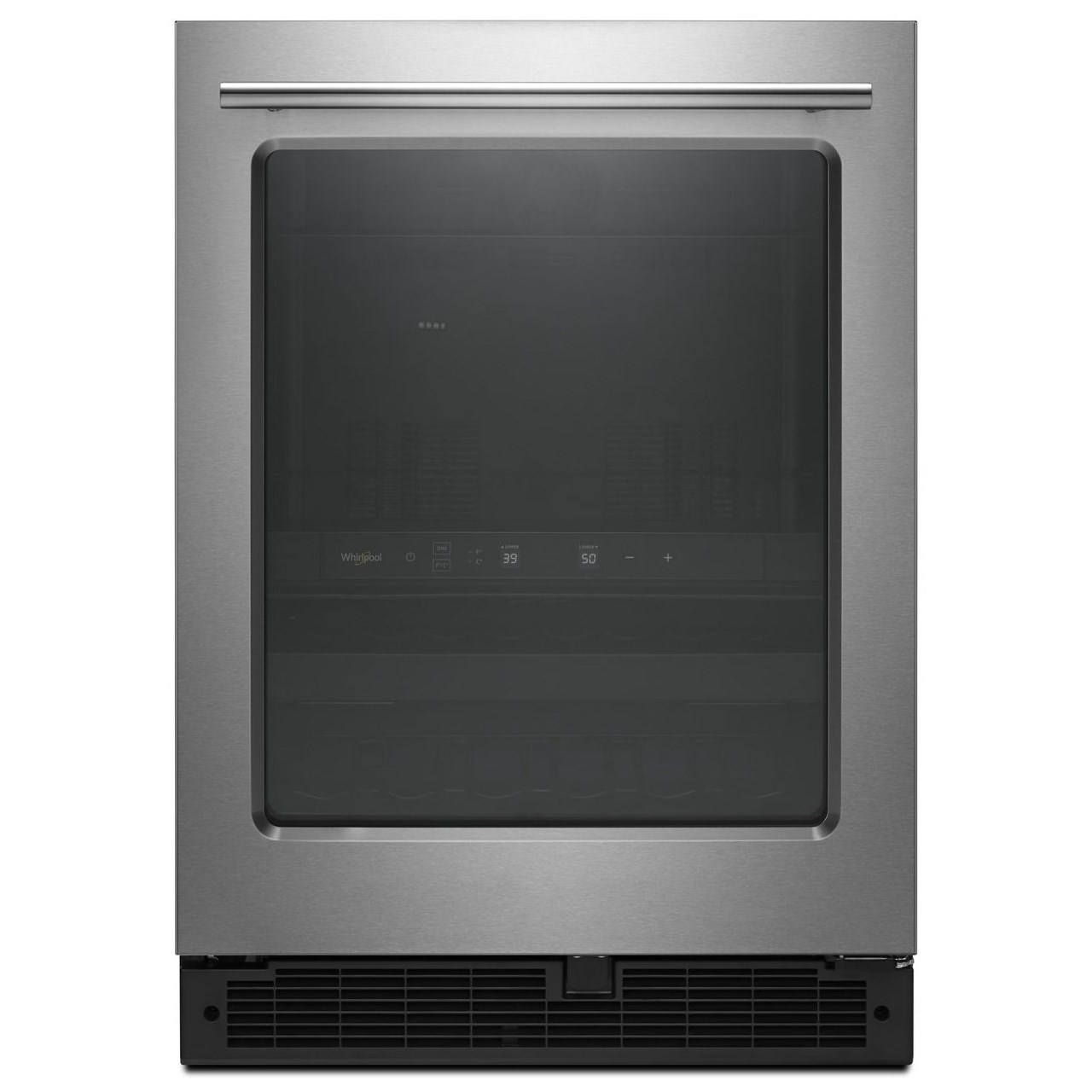 All Refrigerators 24-inch Wide Undercounter Beverage Center by Whirlpool at Furniture and ApplianceMart