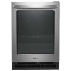 "Whirlpool All Refrigerators 5.2 Cu. Ft. 24"" Undercounter Beverage Center"