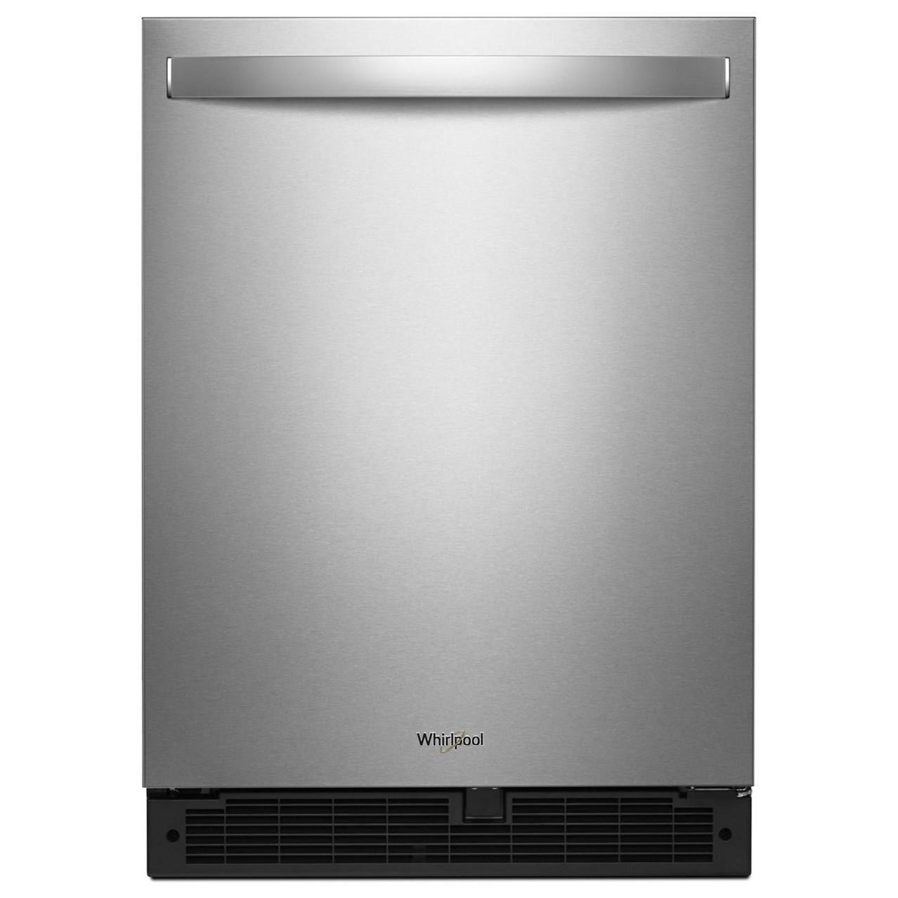 "Whirlpool All Refrigerators 5.1 Cu. Ft. 24"" Undercounter Refrigerator - Item Number: WUR50X24HZ"