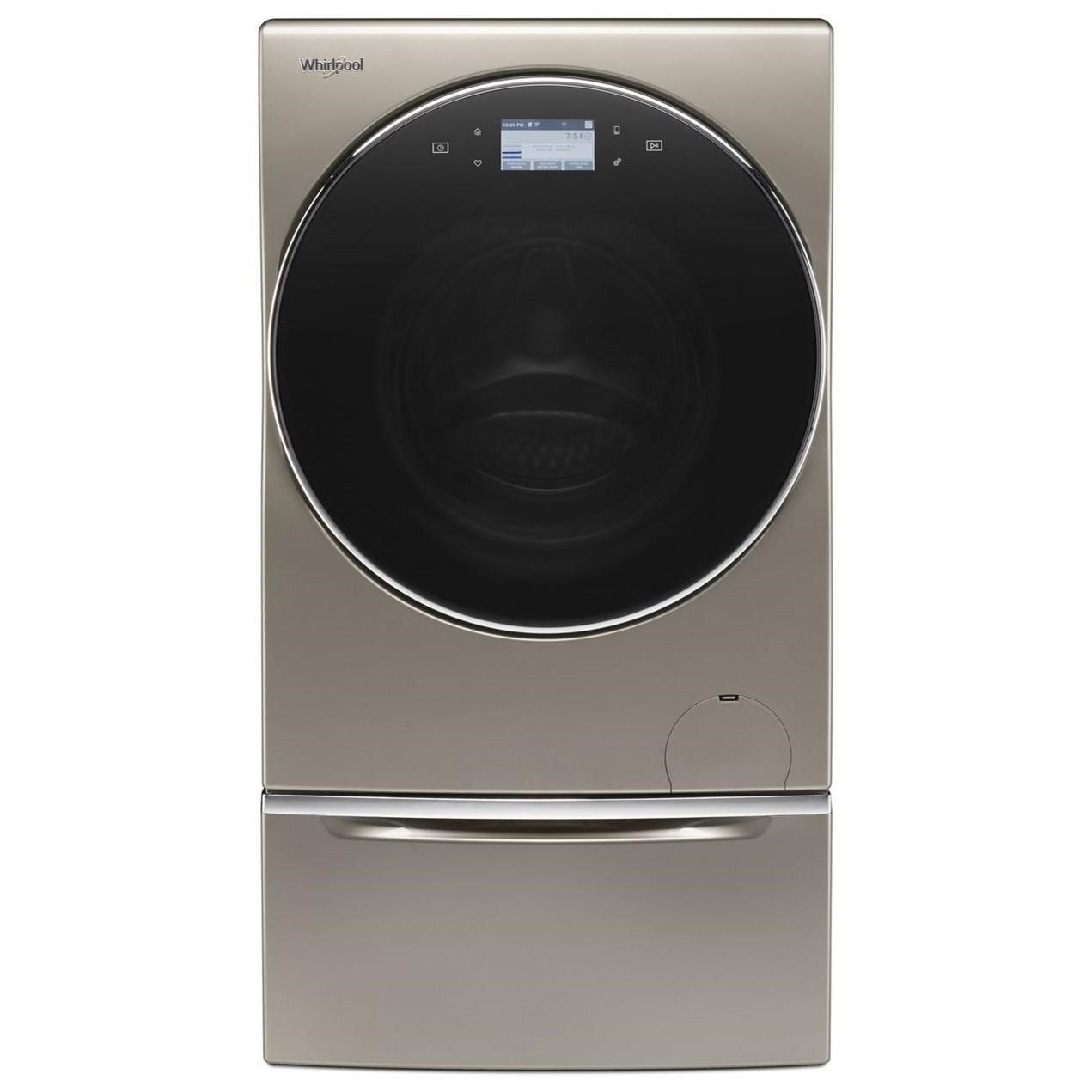 All-In-One Washer & Dryer Combo 2.8 Cu. Ft. Smart All-In-One Washer & Dryer by Whirlpool at Furniture and ApplianceMart