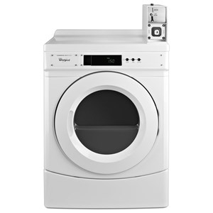 """27"""" Commercial Electric Front-Load Dryer"""