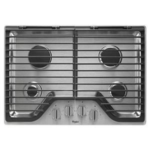 """Whirlpool Gas Cooktops 30"""" Gas Cooktop"""