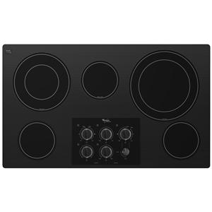 "Whirlpool Electric Cooktops 36"" Built-In Electric Cooktop"