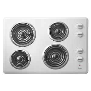 "Whirlpool Electric Cooktop 30"" Electric Cooktop"