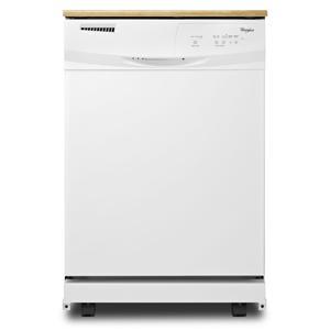 "Whirlpool Dishwashers 24"" Portable Tall Tub Dishwasher"