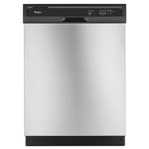 "Whirlpool Dishwashers - 2014 24"" Dishwasher with AccuSense® Soil S"