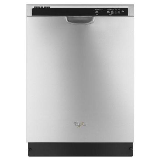 "Whirlpool Dishwashers - 2014 24"" Built-In Dishwasher - Item Number: WDF520PADM"