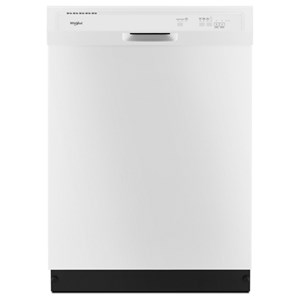 Whirlpool Dishwashers - Whirlpool Heavy-Duty Dishwasher with 1-Hour Wash Cycle