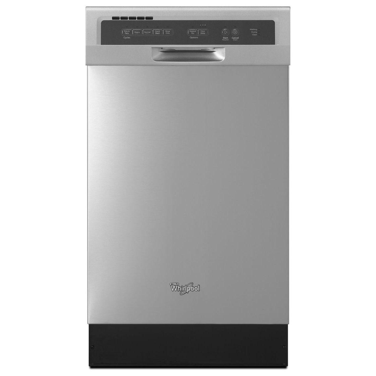 Whirlpool Dishwashers - Whirlpool Compact Tall Tub Dishwasher - Item Number: WDF518SAFM