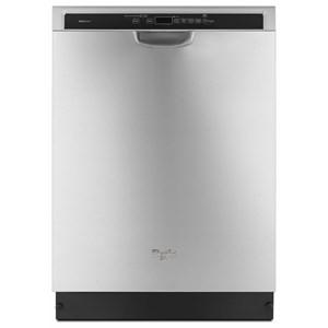 Whirlpool Dishwashers - Whirlpool Fingerprint-Resistant Stainless Dishwasher