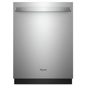 Whirlpool Dishwashers - Whirlpool Top Control Built-In Tall Tub Dishwasher in