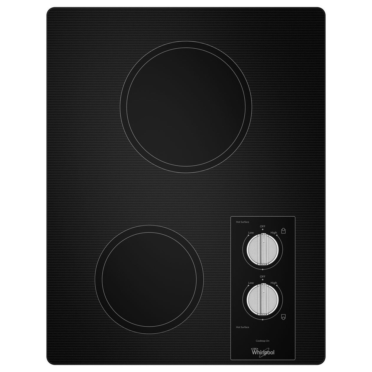 Whirlpool Electric Cooktops - Whirlpool Easy Wipe Ceramic Glass Cooktop - Item Number: W5CE1522FB