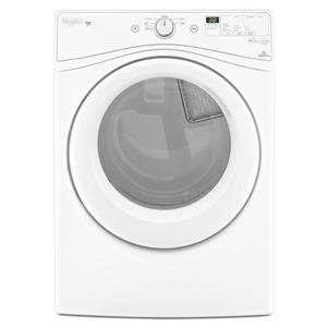 Whirlpool Electric Front Load Dryers - 2014 7.4 cu. ft. Duet® Long Vent Front Load Dryer