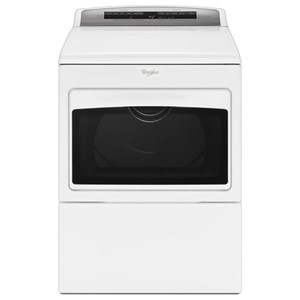 Whirlpool Electric Front Load Dryers 7.4 cu. ft. Large Capacity Electric Dryer