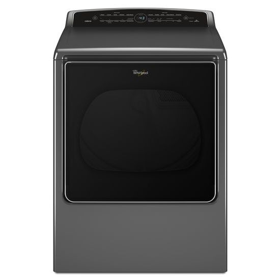 Whirlpool Electric Front Load Dryers ENERGY STAR® 8.8 cu. ft.Large Capacity Dryer - Item Number: WED8700EC