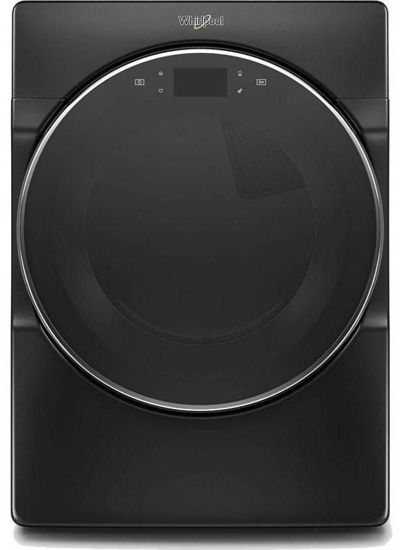 Black Front Load Dryer
