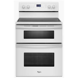 Whirlpool Electric Range 6.7 Total cu. ft. Double Oven Electric Range