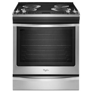 Whirlpool Electric Ranges 6.2 cu. ft. Slide-In Electric Range with Acc
