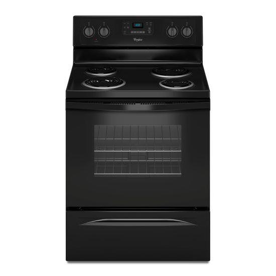 Whirlpool Electric Ranges 4.8 Cu. Ft. Freestanding Electric Range - Item Number: WFC310S0EB