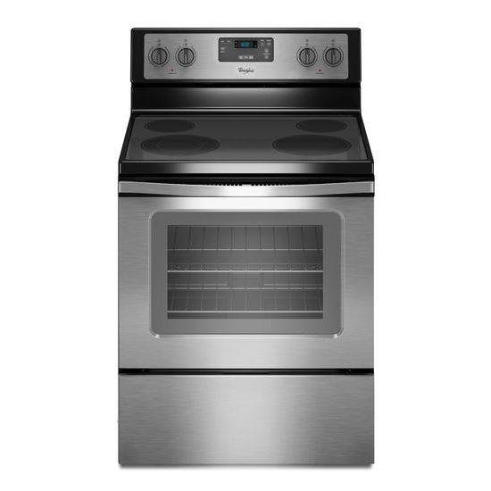 Whirlpool Electric Ranges 4.8 Cu. Ft. Freestanding Electric Range - Item Number: WFE320M0ES