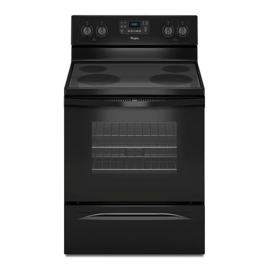 Whirlpool Electric Ranges 5.3 Cu. Ft. Freestanding Electric Range - Item Number: WFE515S0EB