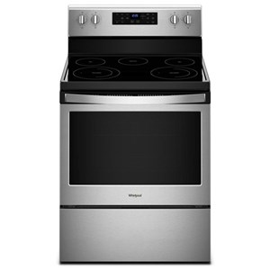 Whirlpool Electric Ranges 5.3 cu. ft. Freestanding Electric Range with
