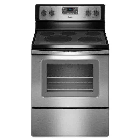 Whirlpool Electric Ranges 5.3 Cu. Ft. Freestanding Electric Range - Item Number: WFE530C0ES