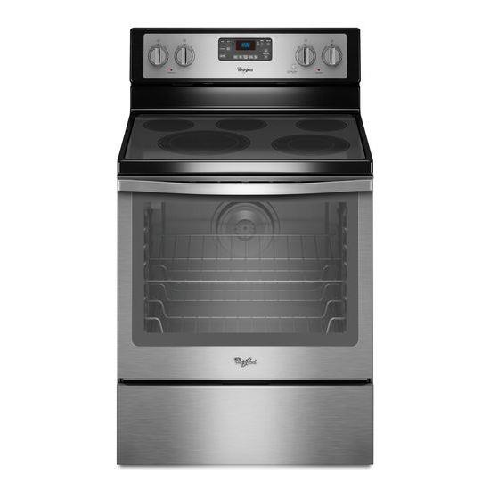 Whirlpool Electric Ranges 6.4 Cu. Ft. Freestanding Electric Range - Item Number: WFE540H0ES