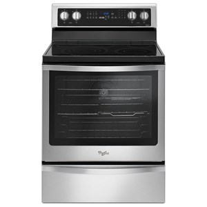 Whirlpool Electric Ranges 6.4 Cu. Ft. Freestanding Electric Range