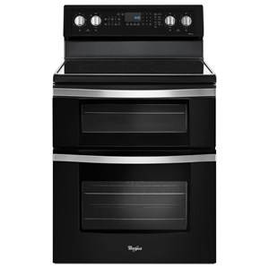 Whirlpool Electric Ranges 6.7 Cu. Ft. Electric Double Oven Range with