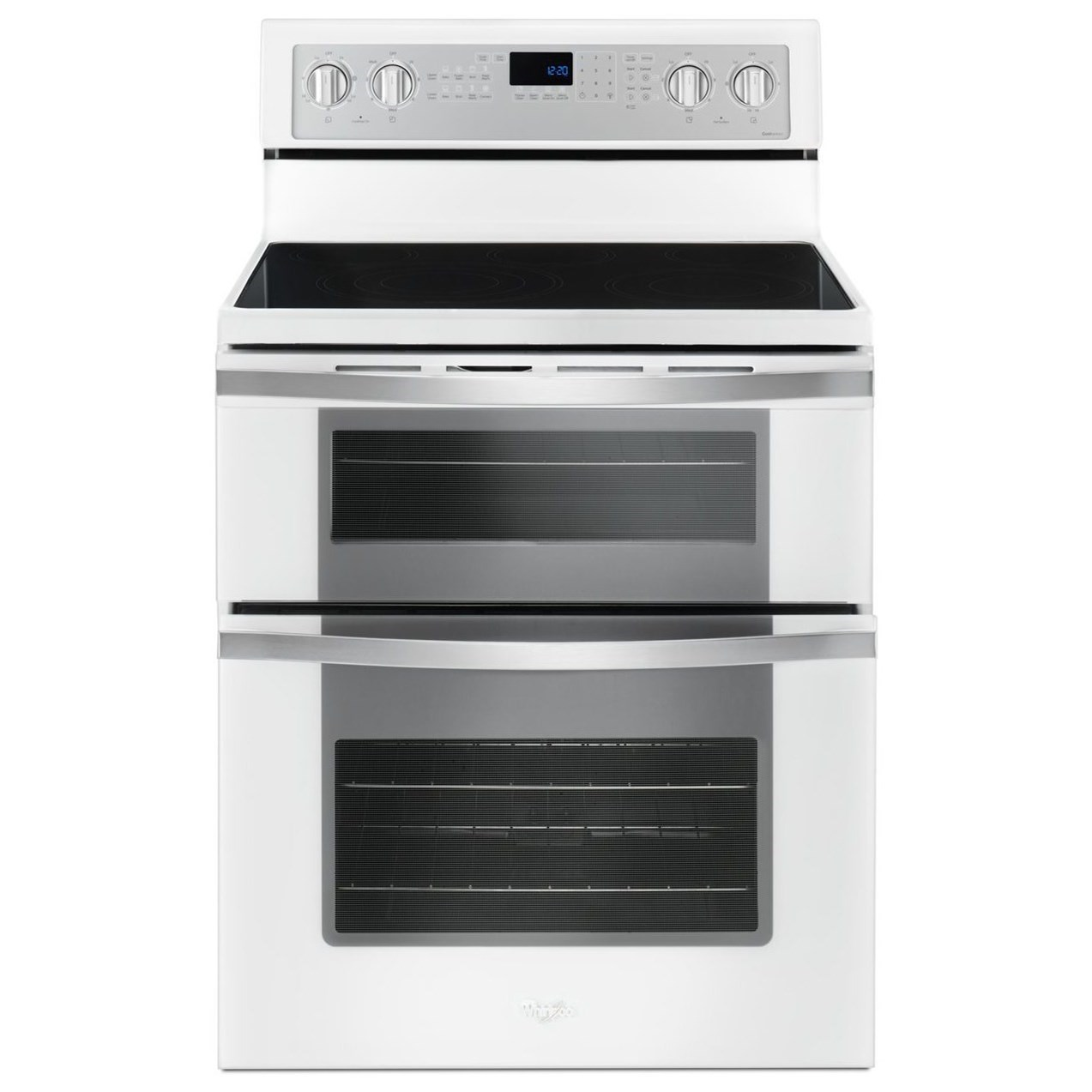 6.7 Cu. Ft. Electric Double Oven Range with